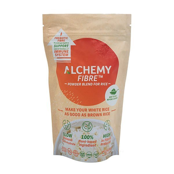 250g front Packaging Alchemy Fibre Powder Blend For Rice