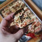 Baked Mentaiko Kanhi Sushi Rice