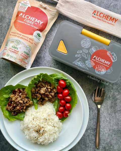 Kung Po Minced Meat Rice with Alchemy Fibre