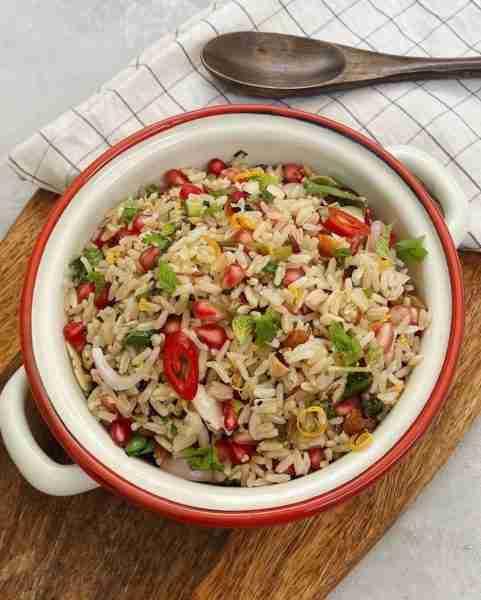 Zesty Herb Rice Salad
