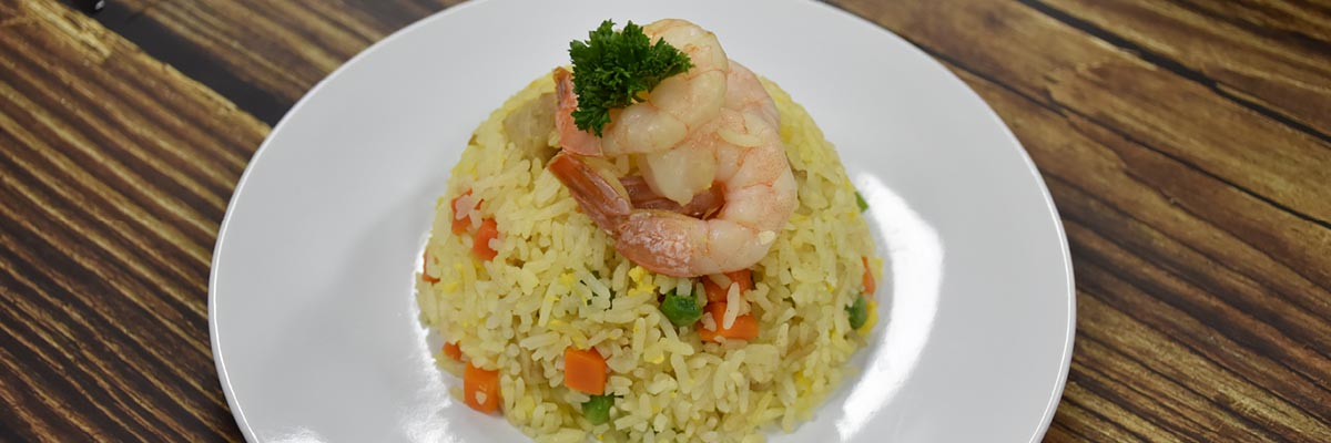 yang zhou fried rice with prawn and alchemy fibre