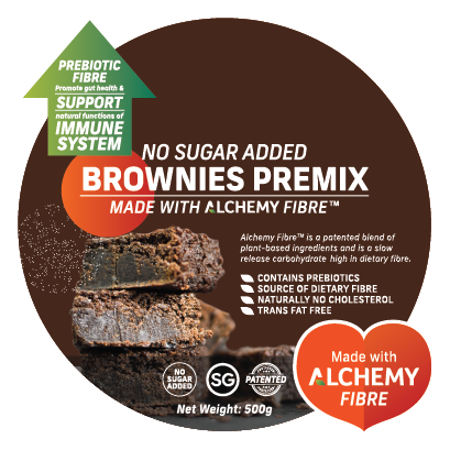 Alchemy Premix Brownies Packaging Front