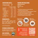 Alchemy Premix Pancakes Packaging Back
