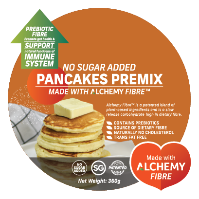 Alchemy Premix Pancakes Packaging Front