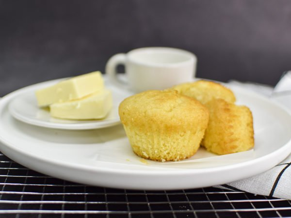 Alchemy Premix Muffins Served with Butter