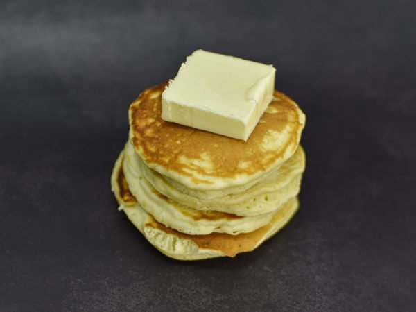 Alchemy Premix Pancakes stacked