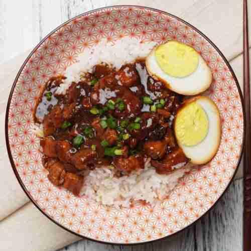Taiwanese-Braise-Pork-Rice-with-Alchemy-Fibre
