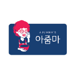 ajumma korean logo