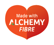 made with alchemy fibre device mark