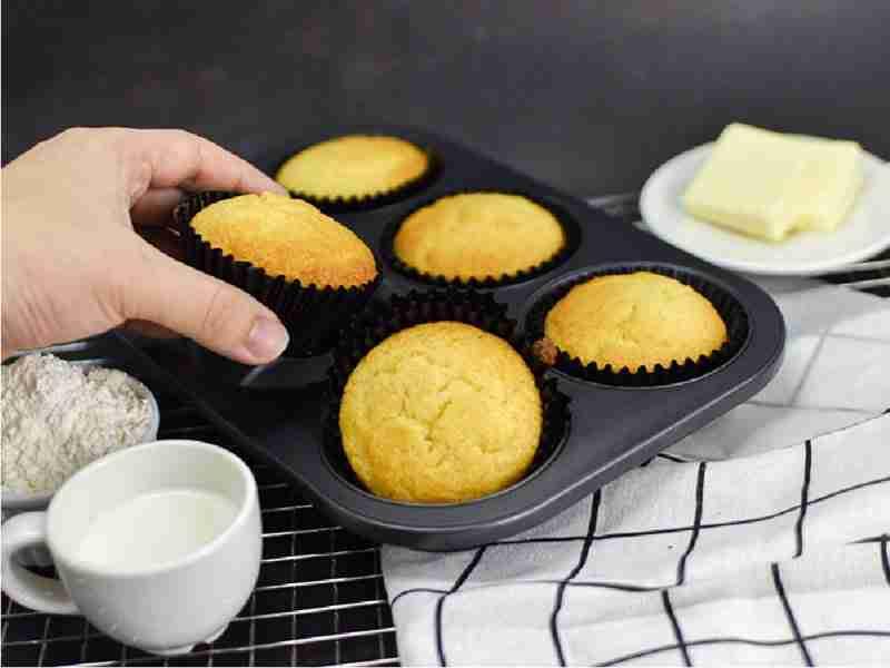 Quick & Easy Ham & Cheese Muffins
