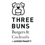 three buns logo