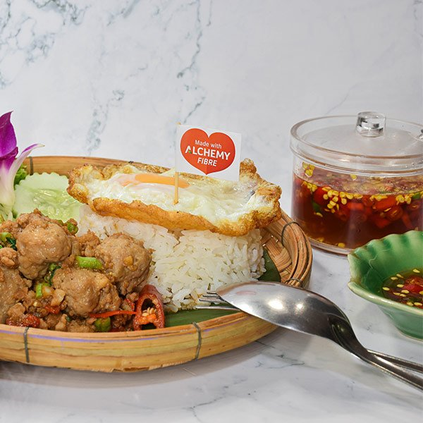Bouncy-Pork-Meat-with-Rice-and-alchemy-fibre-featured-photo