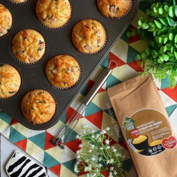 ham and cheese muffins