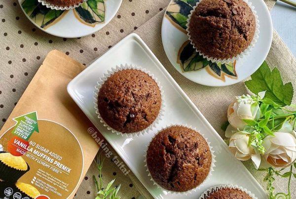 mocha chocolate chip muffins