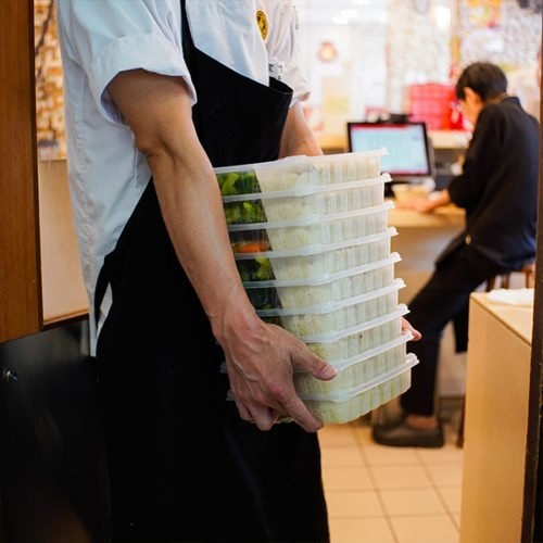 Boon Tong Kee providing meal pack