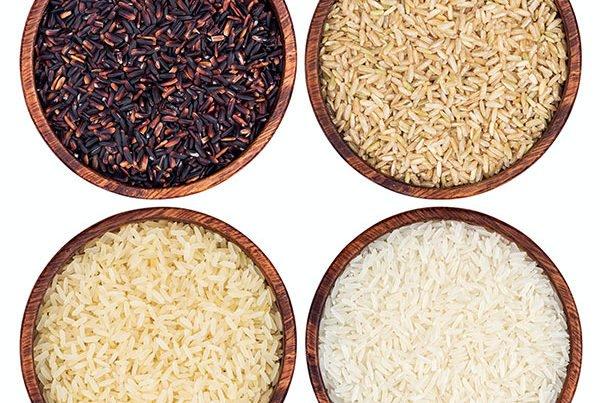 Multiple type of rice grain